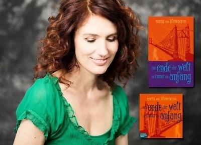 Maria von Blumencron und Buch Cover