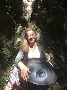 Handpan im Siebengebirge
